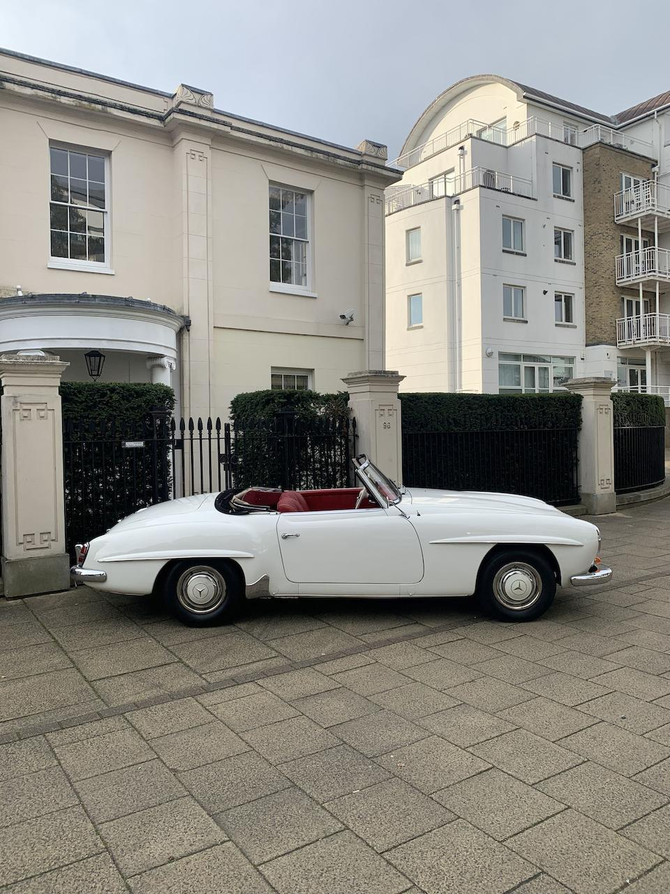 1961 Mercedes-Benz 190 SL Convertible  Chassis no. 121 042 10 022167