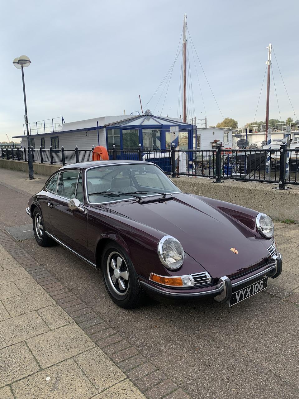 1969 Porsche 911E 2.0-Litre Coupé  Chassis no. 119200564
