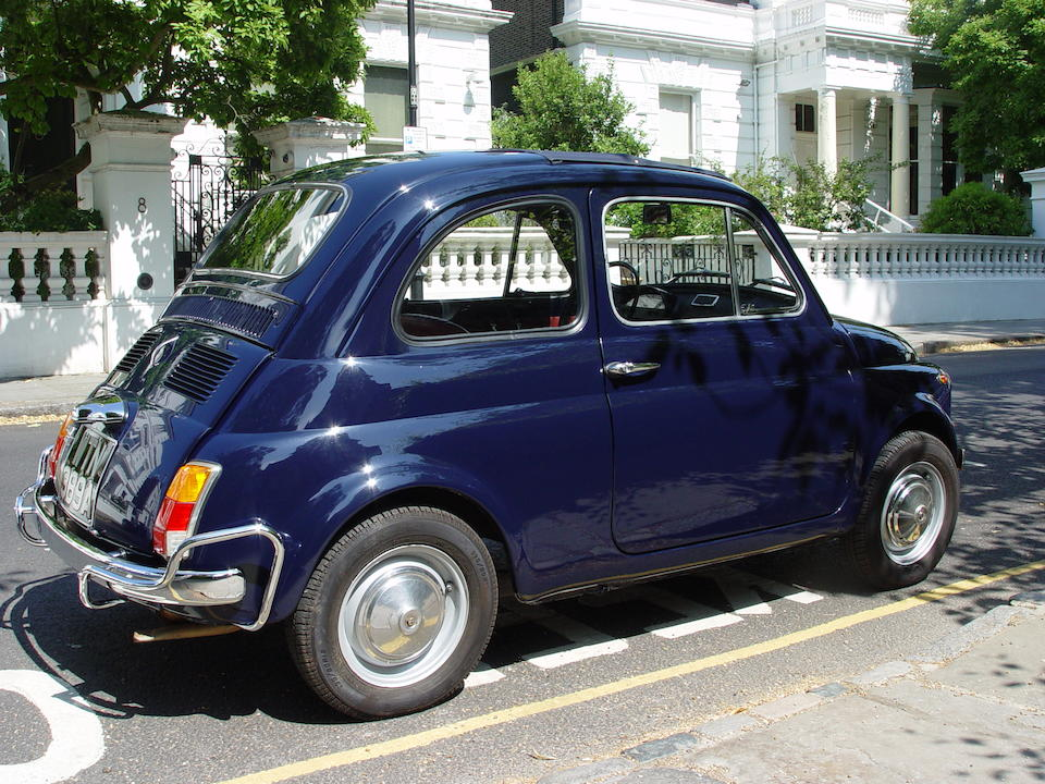 1971 FIAT 500L Saloon  Chassis no. 2549437