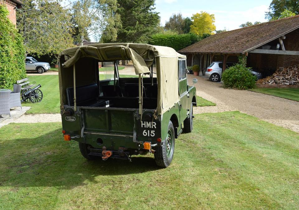 "1951 Land Rover Series I 80""  Chassis no. 26100726"