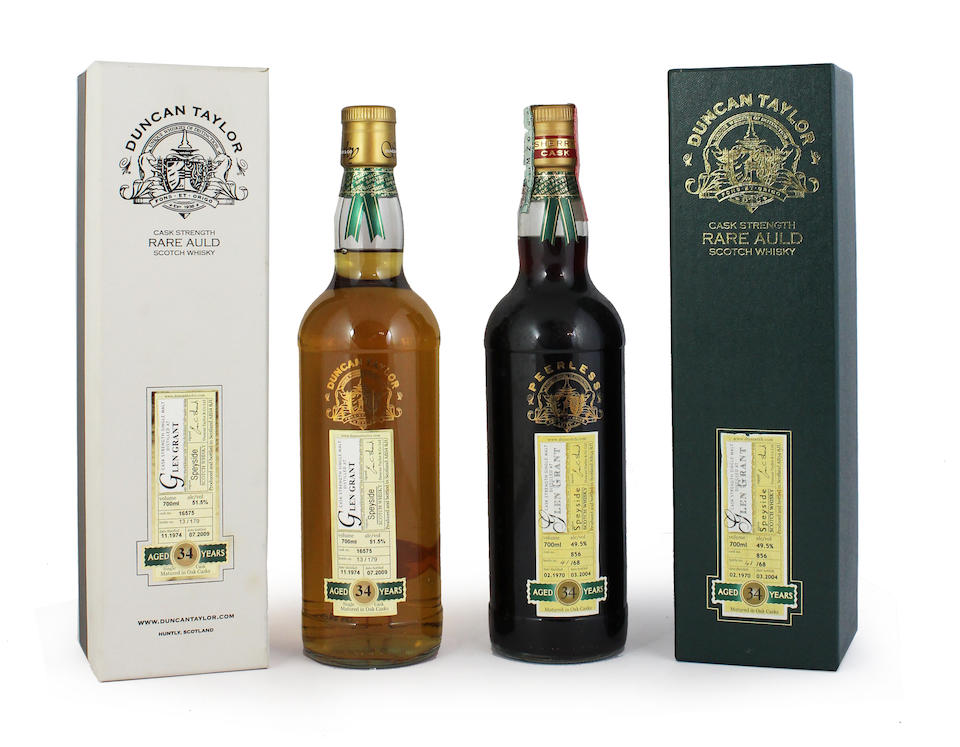 Glen Grant-34 year old-1970 Glen Grant-34 year old-1974 Glen Grant-35 year old-1970 (2)