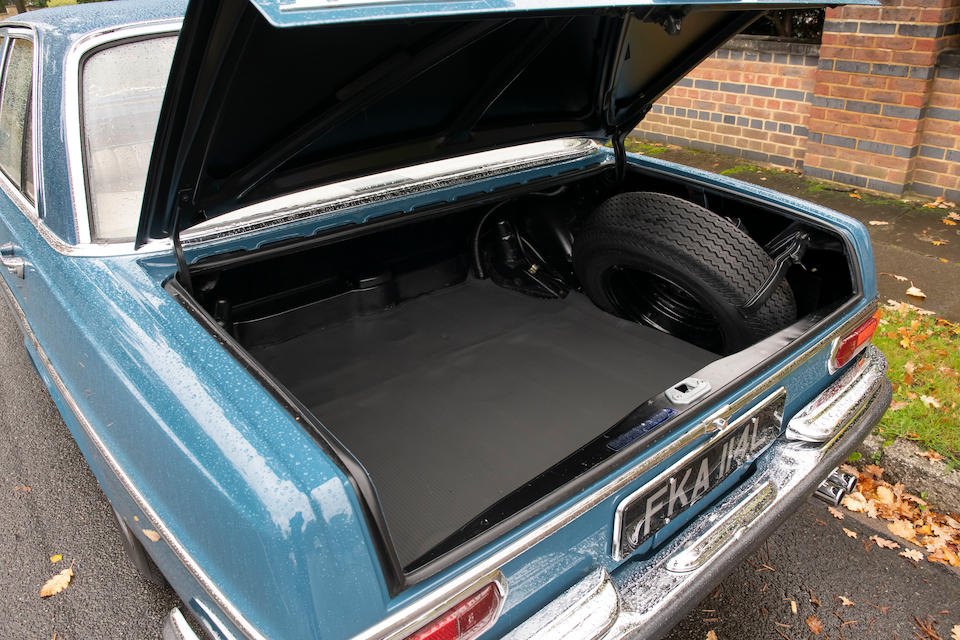 1972 Mercedes-Benz 280 SE 3.5 Saloon  Chassis no. 108.057.22.011937