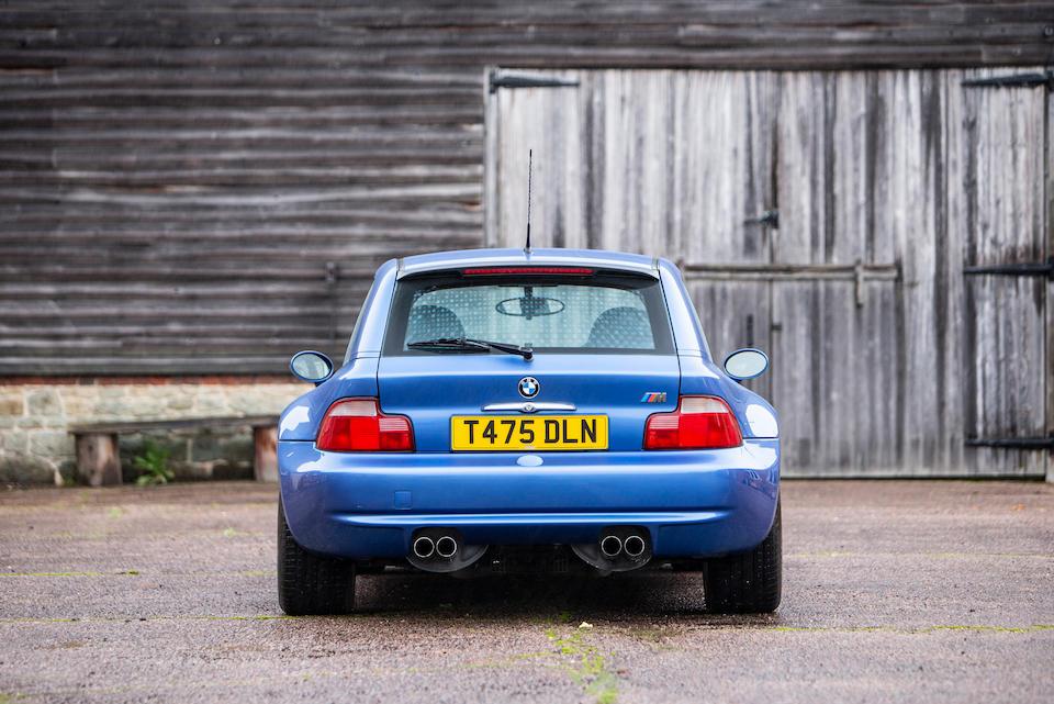 1999 BMW Z3M Coupé  Chassis no. WBSCM92090LB29285