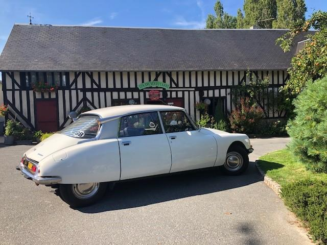 1972 Citroen DS 20 Pallas  Chassis no. 00FD9124