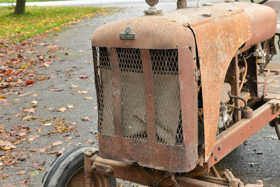 c.1955 BMB President Tractor Project  Chassis no. to be advised