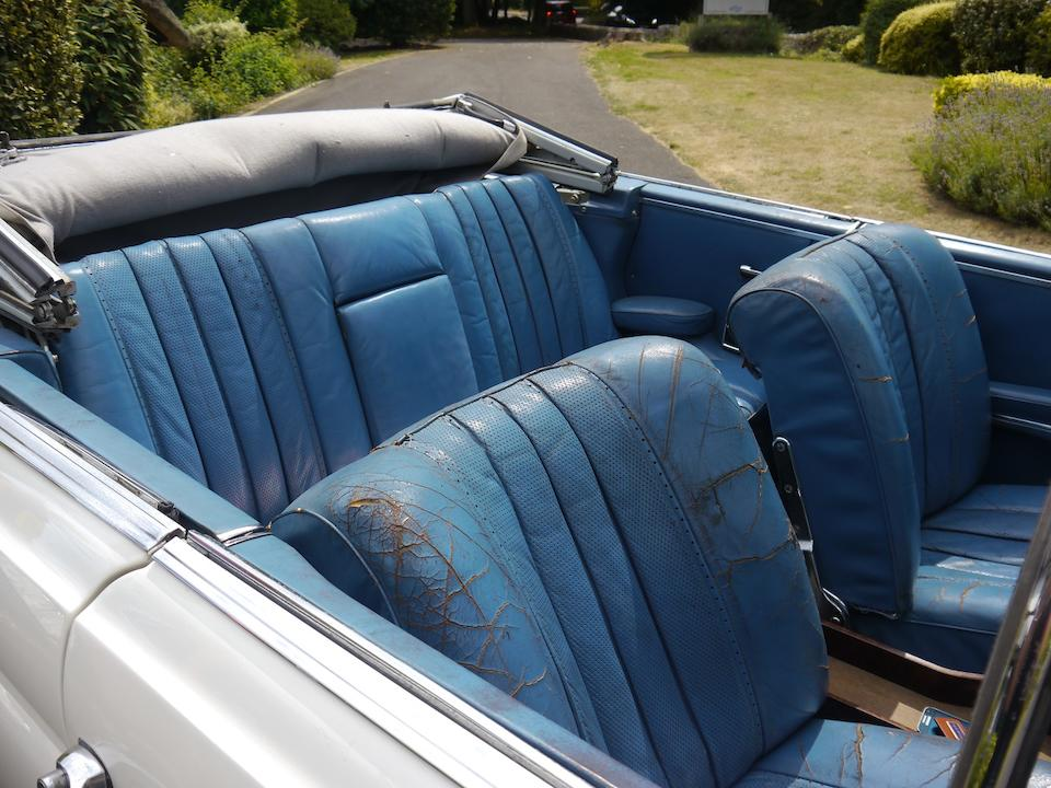 1963  Mercedes-Benz 220SE Cabriolet   Chassis no. 11102320048965