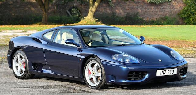 2004 Ferrari 360 Modena Coupé  Chassis no. ZFFYR51C00136554