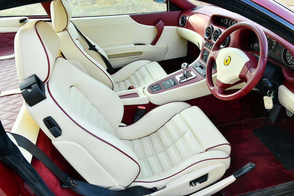 1998 Ferrari 550 Maranello Coupé  Chassis no. ZFFZR49C000113801