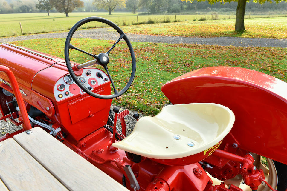 1960 Porsche 218 Tractor  Chassis no. 3158