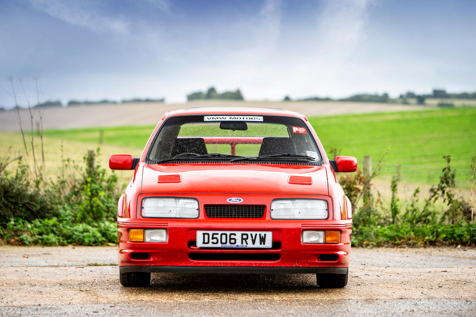 1986 Ford Sierra RS Cosworth Hatchback  Chassis no. WFOEXXGBBEGB43909