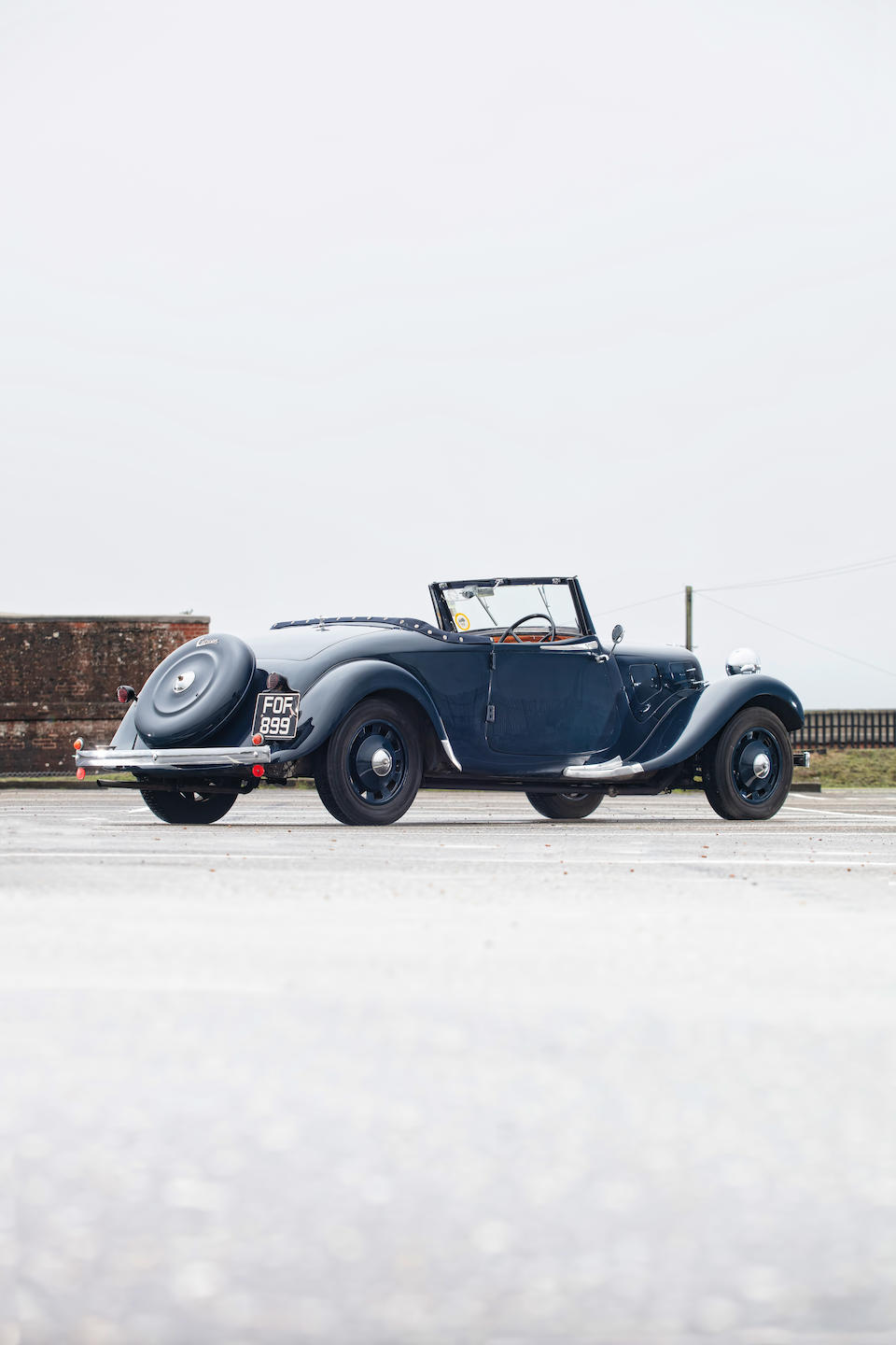 1939 Citroën Light Fifteen Roadster  Chassis no. 123124