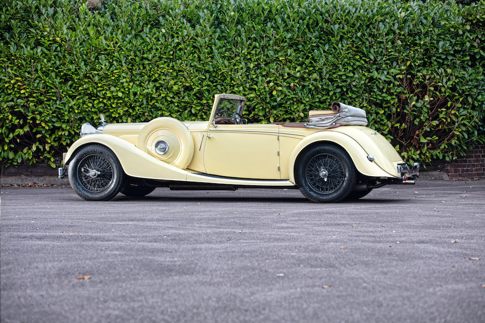 1937 Alvis Speed Twenty-Five Drophead Coupé  Chassis no. 14376