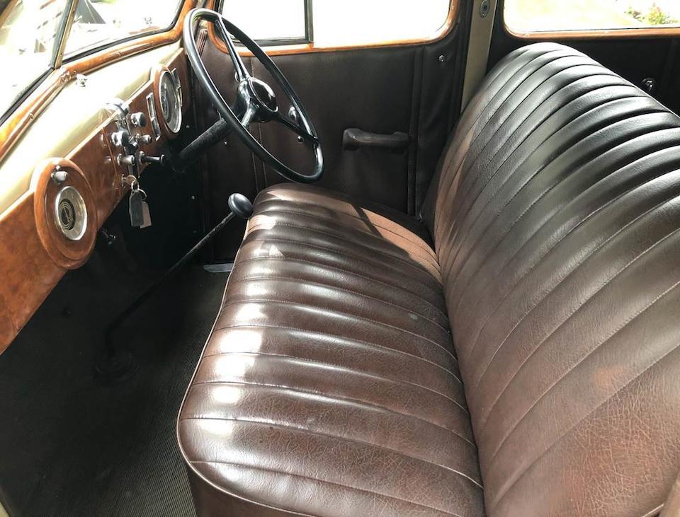 1935 Oldsmobile F-35 Touring Sedan  Chassis no. F203904