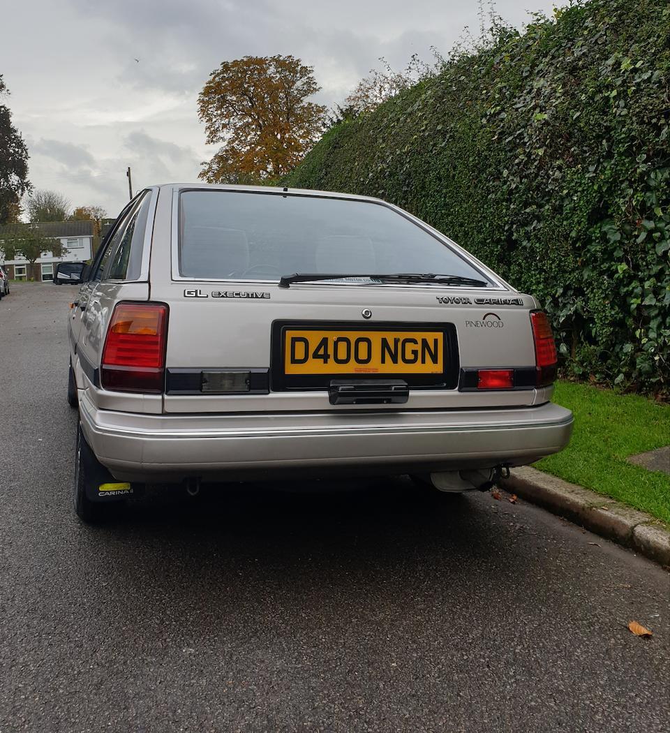 1986 Toyota Carina II Executive  Chassis no. JT1LAT15100086009