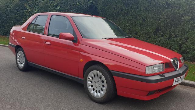 1997 Alfa Romeo 155 2.0 16V TWINSPARK   Chassis no. ZAR1670000150769Y