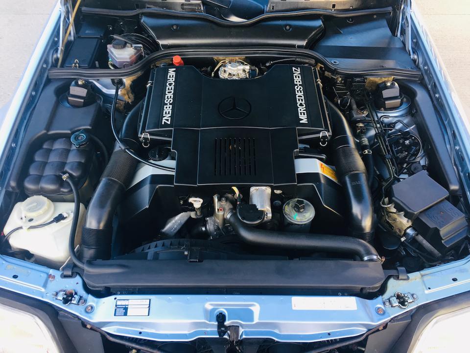 1990 Mercedes-Benz 500 SL Convertible  Chassis no. WDB1290662F018054