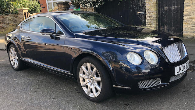 2004 Bentley Continental GT  Chassis no. SCBCE63W64C021007