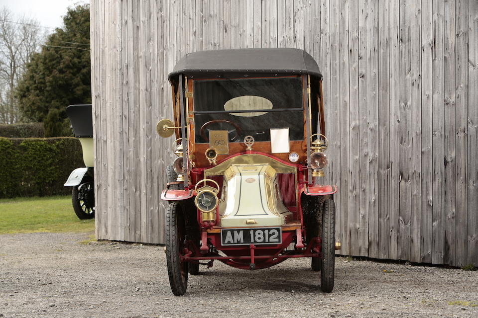 Ex-Louis Holland,1910 Renault AX 8HP  Chassis no. AX24695