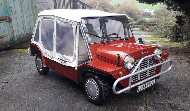 1987 Leyland Mini Moke  Chassis no. SAXXKFR3285680756