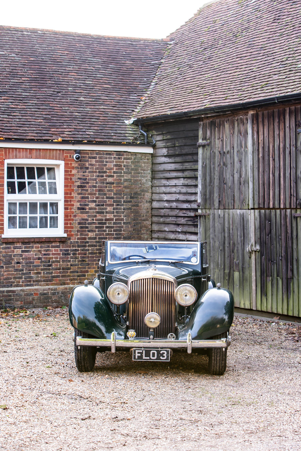 From the estate of the late Air Marshal Sir Freddie Sowrey KCB, CBE, AFC,1939 Bentley 4¼-Litre All-weather Cabriolet  Chassis no. B-80-MR
