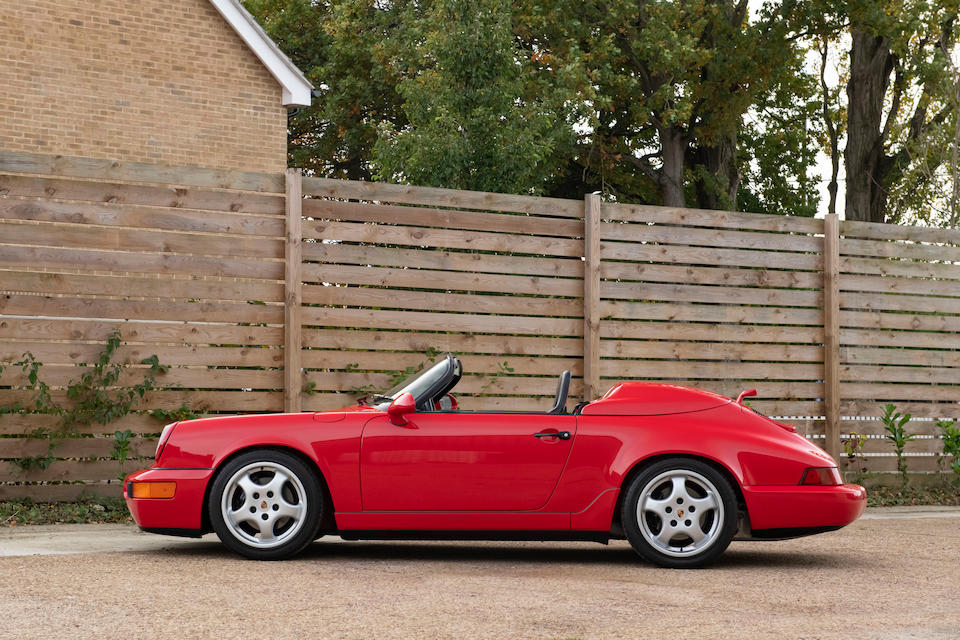 Formerly the property of four-time IndyCar Champion, Dario Franchitti,1994 Porsche 911 Type 964 Speedster  Chassis no. WP0CB2965RS465353