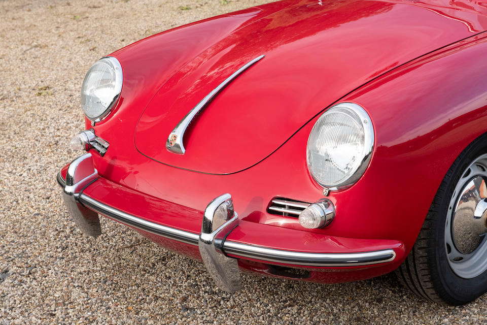 1962 Porsche 356B 1600 Cabriolet  Chassis no. 156019