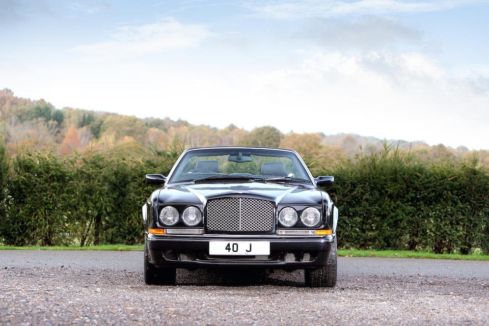 2002 Bentley Azure Mulliner Convertible  Chassis no. SCBZK26E03CH01159