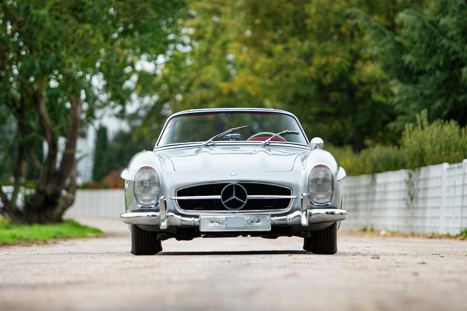 1963 Mercedes-Benz 300 SL Roadster with Factory Hardtop  Chassis no. 198042-10-003245