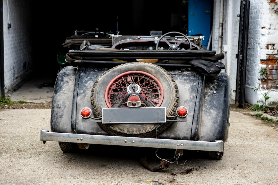 Offered from the Bursville Collection,1934 Bentley 3½-Litre Open Tourer  Chassis no. B125BL