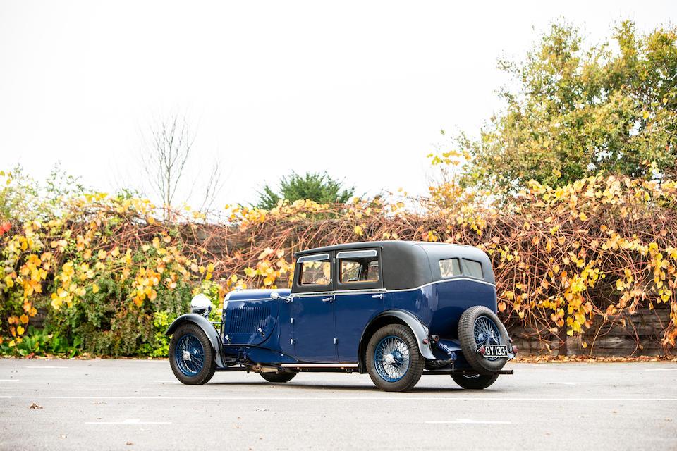 1932 Lagonda 2-Litre Continental Saloon  Chassis no. OH10107