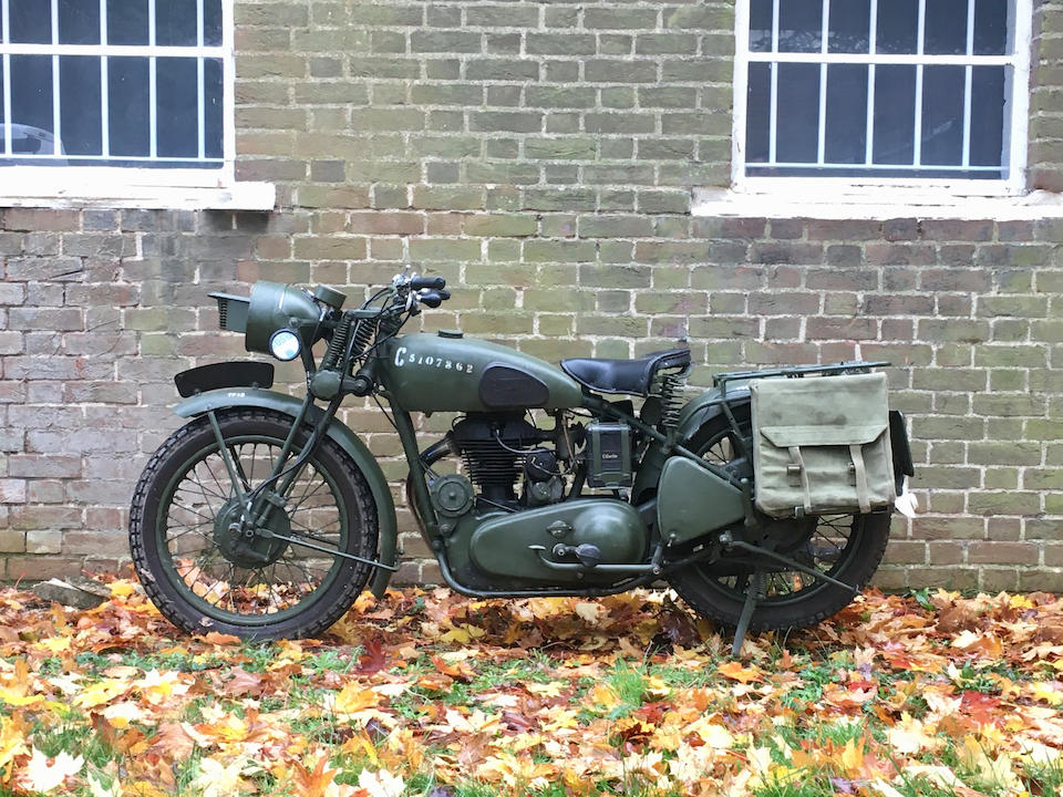 1944 Royal Enfield  Chassis no. M9014 Engine no. G8084 & C9014