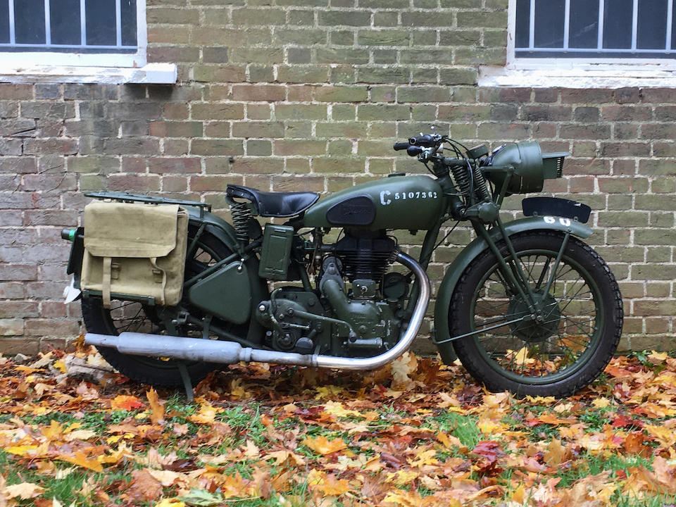 1944 Royal Enfield  Chassis no. M9014 Engine no. G8084 & C9014