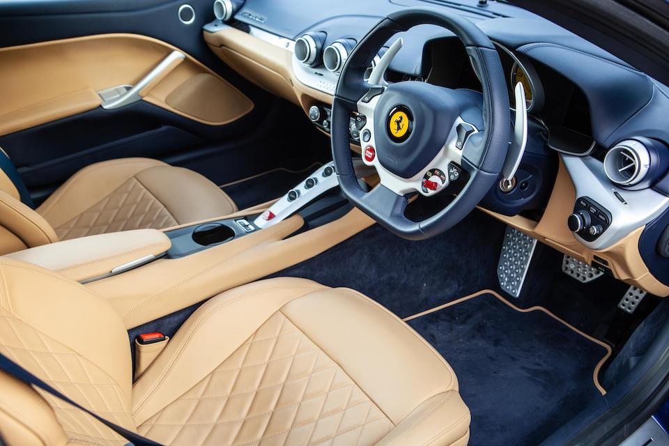 One owner from new, 2017 Ferrari F12 Berlinetta 70th Anniversary – 'The Scaglietti'  Chassis no. ZFF74UC000230210