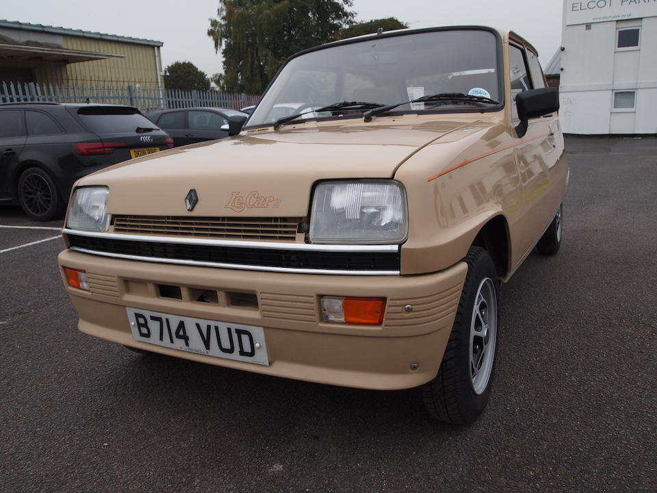1984 Renault 5 TL Le Car  Chassis no. 122700F0031240