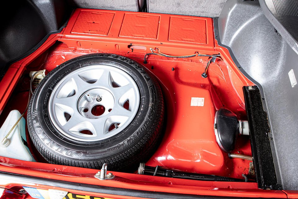 1986 Ford Capri 2.8 Injection Special  Chassis no. WFOCXXGAECGJ64539
