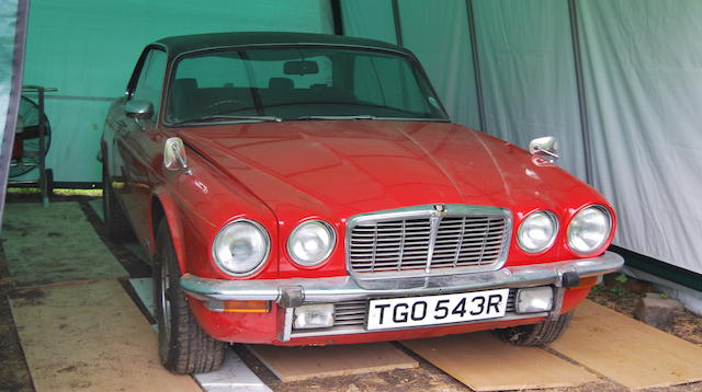 1977 Jaguar XJ 4.2C Auto Project  Chassis no. 2J-2433BW