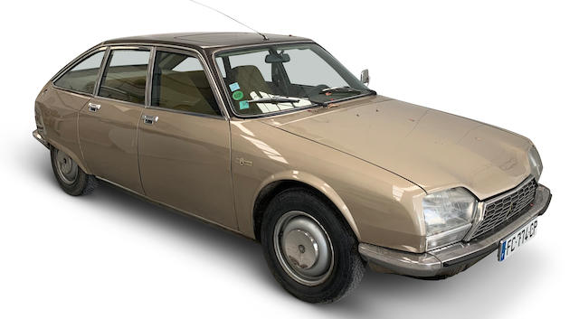 1974 Citroën GS Birotor Saloon  Chassis no. to be advised
