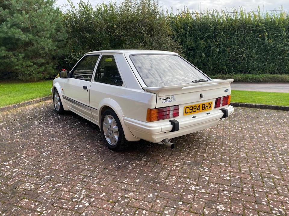 The BEC Collection,1986  Ford Escort RS Turbo  Chassis no. WFOBXXGCABFR68790
