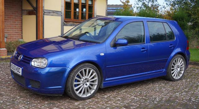 The BEC Collection,2003 Volkswagen Golf R32  Chassis no. WVWZZZ1JZ4D005224