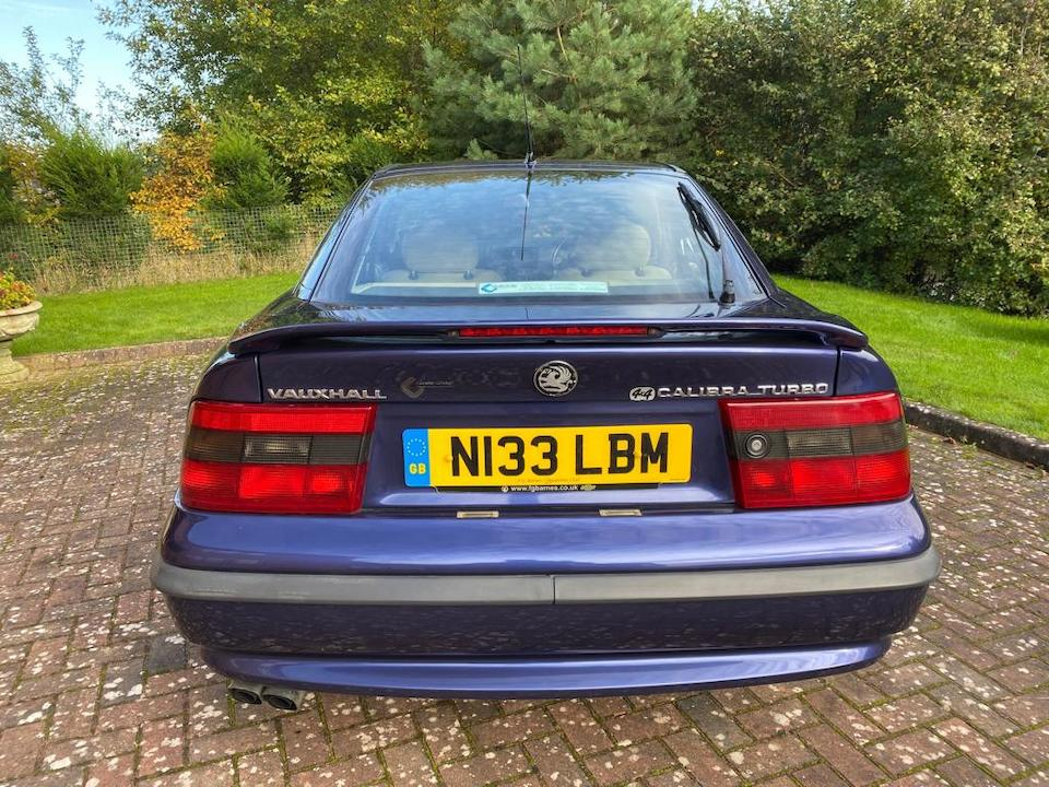 The BEC Collection,1996 Vauxhall Calibra Turbo 4x4  Chassis no. W0L000085T9001867