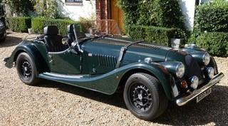 2001 Morgan Plus 8  Chassis no. SA9P8400004R12589