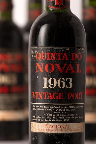 Quinta do Noval Nacional 1963, See lot 690 for provenance (6)