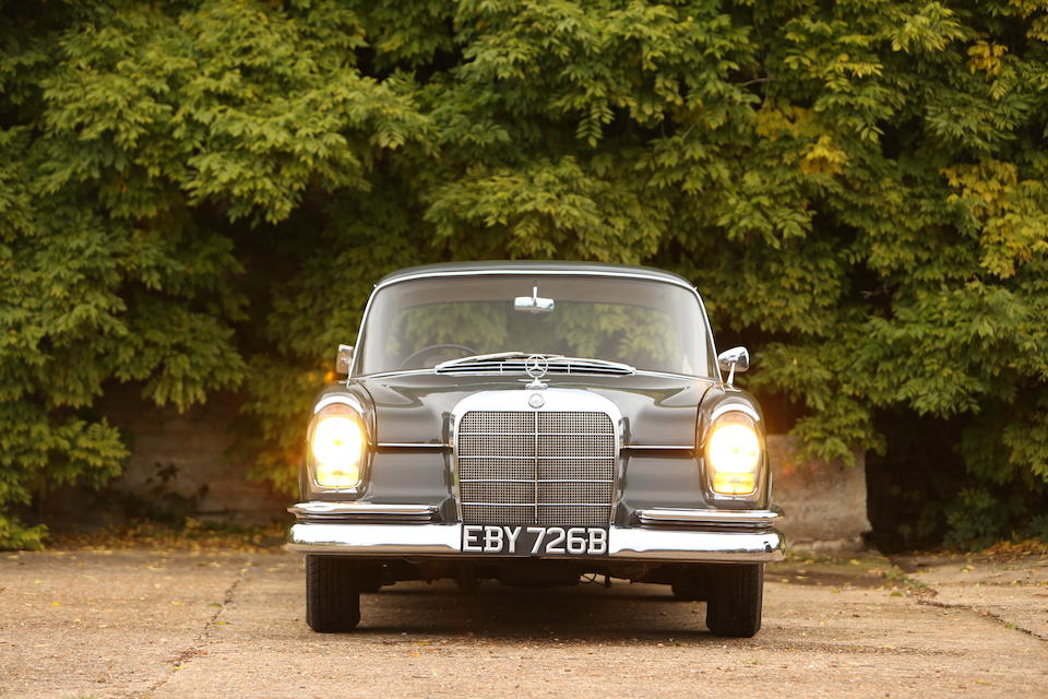 1964 Mercedes-Benz 220B  Chassis no. 11101020055164