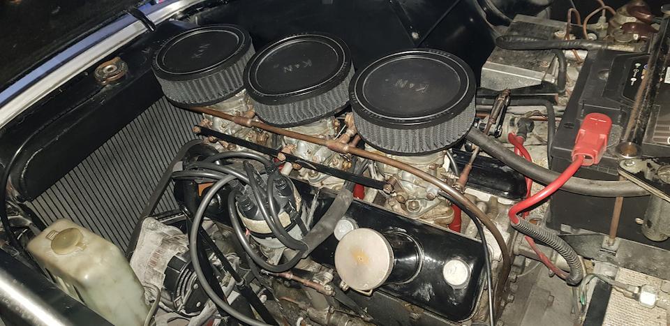 1962 AC Greyhound Bristol  Chassis no. BEF2566
