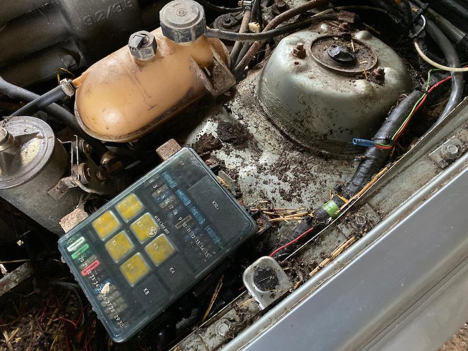1983 BMW 635CSI  Chassis no. WBAEC820508185914