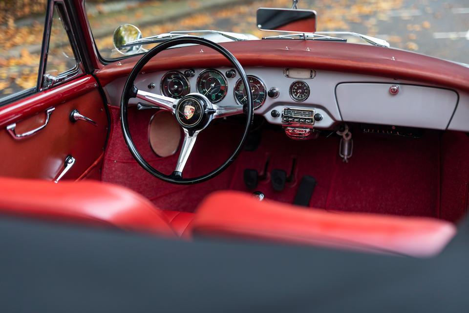 1960 Porsche 356B 1600 Super Cabriolet  Chassis no. 154172