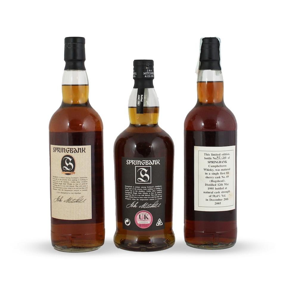 Springbank-21 year old Springbank Vintage-1977 Springbank-10 year old Springbank-10 year old Springbank-10 year old Springbank-9 year old Springbank-9 year old