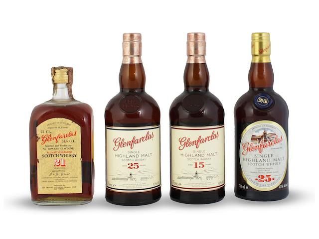 Glenfarclas-21 year old Glenfarclas-15 year old Glenfarclas-25 year old (2)