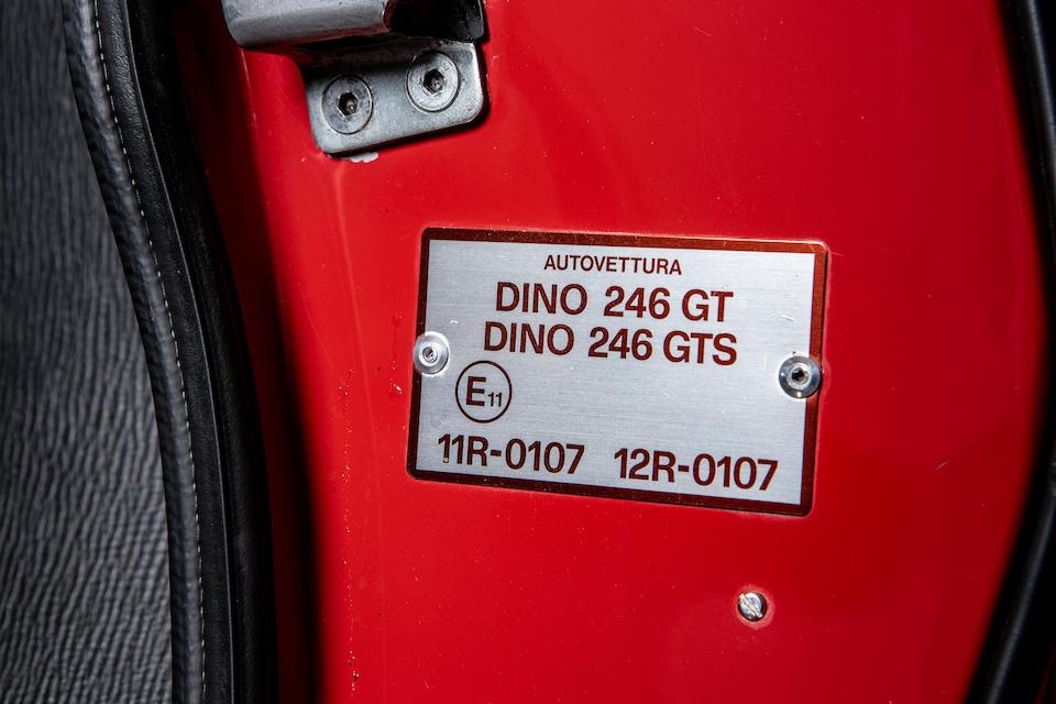 1974 Ferrari Dino 246 GT Spider  Chassis no. 07702