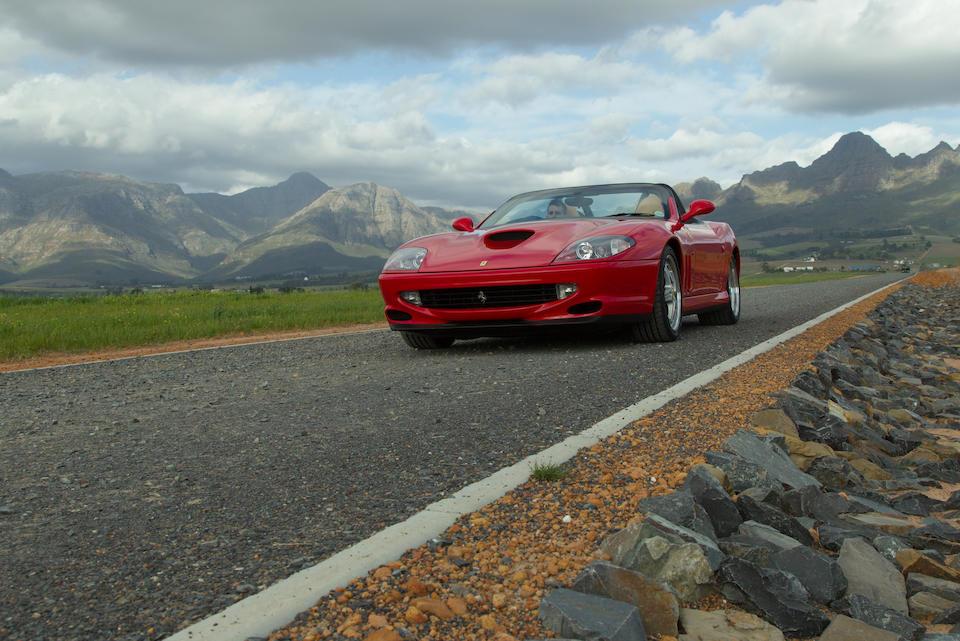2001 Ferrari 550 Barchetta Pininfarina  Chassis no. ZFFZR52C000124416